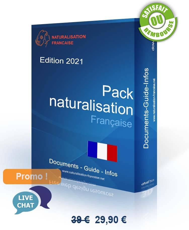 Pack nationalité française